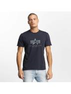 Alpha Industries T-Shirt Basic bleu