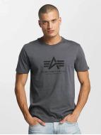 Alpha Industries T-Shirt Basic grau