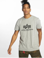 Alpha Industries T-Shirt Basic gris