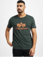 Alpha Industries t-shirt Basic groen