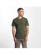 Alpha Industries T-Shirt 3D grün