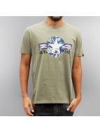 Alpha Industries t-shirt USAF olijfgroen