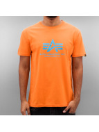 Alpha Industries t-shirt Basic oranje