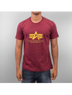 Alpha Industries t-shirt Basic rood