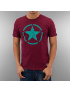 Alpha Industries T-Shirt Star rouge