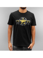 Alpha Industries T-Shirt USAF schwarz