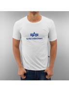 Alpha Industries T-Shirt Body Logo weiß