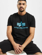 Alpha Industries T-shirtar Basic svart