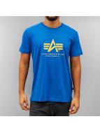 Alpha Industries T-Shirty Basic niebieski