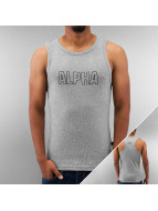 Alpha Industries Tank Tops Track grau