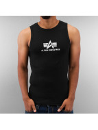Alpha Industries Tank Tops Logo musta