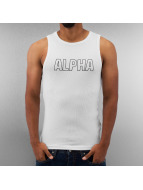 Alpha Industries Tank Tops Track weiß