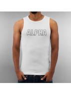 Alpha Industries Tank Tops Track weiß