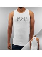 Alpha Industries Tanktop Track wit