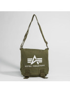 Alpha Industries tas Big A Canvas olijfgroen