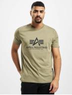 Alpha Industries Trika Basic olivový