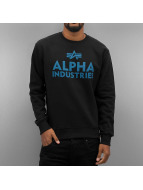 Alpha Industries trui Foam Print zwart