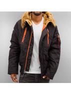 Alpha Industries Winter Jacket PPS N2B black