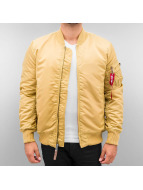 Alpha Industries Winter Jacket MA-1 VF 59 gold colored