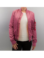 Alpha Industries Winter Jacket Ma 1 VF 59 pink