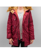 Alpha Industries Winter Jacket N3B VF 59 red