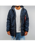 Alpha Industries Winterjacke N3-B PM blau