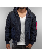 Alpha Industries Winterjacke Hunter blau