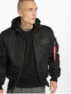 Alpha Industries Winterjacke MA-1 D-tec Bomber Jacket schwarz