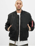 Alpha Industries Winterjacke MA-1 VF 59 Long schwarz