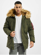 Alpha Industries winterjas Polar groen