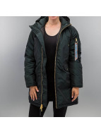 Alpha Industries winterjas Exparka groen