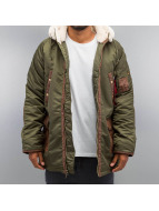 Alpha Industries winterjas N3-B3 groen