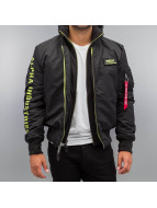 Alpha Industries winterjas MA-1 D-Tec SE groen