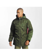 Alpha Industries winterjas N3-B PM groen