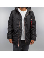 Alpha Industries winterjas N3-B PM zwart