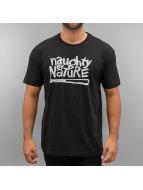 Amplified Футболка Naughty By Nature Logo черный