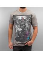Amplified Camiseta Winged Biker gris