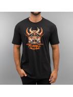 Amplified Camiseta Pharrell III Monster Hat negro