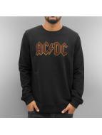 Amplified Pullover AC DC Logo schwarz