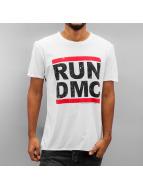 Amplified T-Shirt RUN DMC Logo blanc
