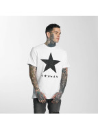 Amplified T-Shirt David Bowie Blackstar blanc