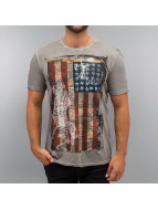 Amplified T-Shirt American Angel grau