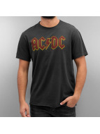 Amplified T-Shirt AC DC Logo grau