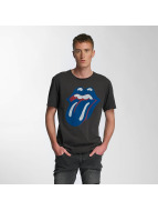 Amplified T-Shirt Rolling Stones Blue und Lonesome gris