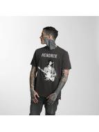Amplified T-Shirt Jimi Hendrix Experience gris