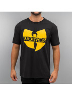 Amplified t-shirt Wu Tang Logo zwart