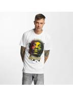 Amplified T-Shirts Snoop Dogg - Rasta beyaz