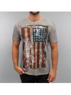 Amplified T-shirts American Angel grå