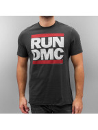 Amplified T-Shirty RUN DMC Logo szary
