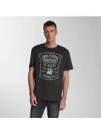 Amplified T-skjorter Guns & Roses LA Paradise City grå